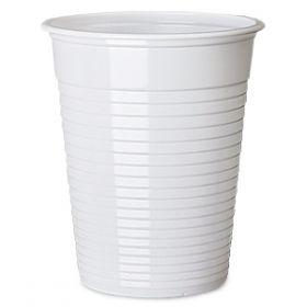 Čaša polipropilen 200ml bela